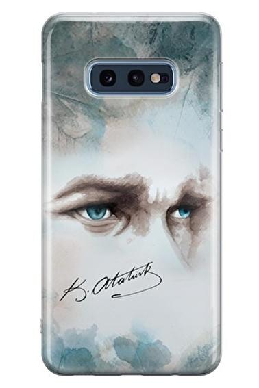 Lopard Samsung Galaxy S10E Kılıf Atam Benim Kapak Renkli